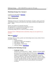 marketing strategy ets review