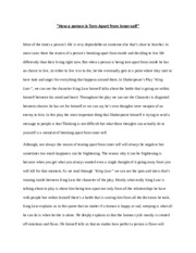 compare and contrast essay friday th research essay  5 pages how a person is torn apart from inside
