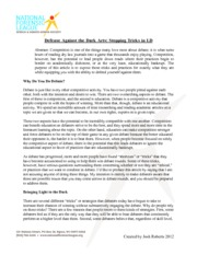 Defending Philisophies