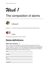 Week 1 Study Guide_IntroductoryChemistry