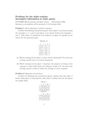 Problems for Seminar 9