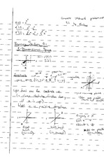 Multiple Variable Calculus Semester Notes