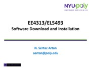 SoftwareDownloadAndInstallationFall2010