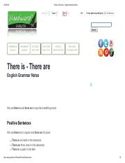 There Is There Are - English Grammar Notes.pdf