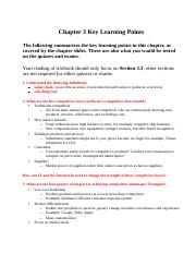 CIS3390_Chapter03_Key Learning Points