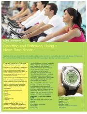 Selecting and Using a Heart Rate Monitor.pdf