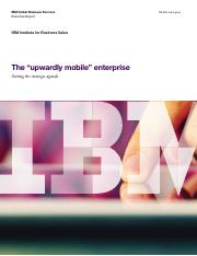 "Mobility_The ""upwardly mobile"" enterprise Exec Report"