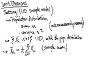 Lecture 13 on Limit Theorems