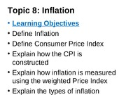 Topic - INFLATION & UNEMPLOYMENT STU i2