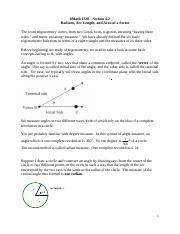 13.1-13.2 answers - Trigonometry 13.1-13.2 Review 13-1 ...
