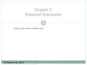 Lecture 2 Financial Statements in Detail