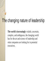 3Rhea-The changing nature of leadership-.pptx