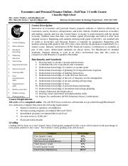 Online Economics and Personal Finance Syllabus 2017(1) (1).doc