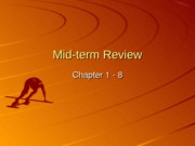 9 Midterm Review