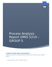 OMIS 5210 Process Analysis Report- Group 5.docx
