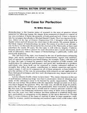 The Case for Perfection (Brown).pdf