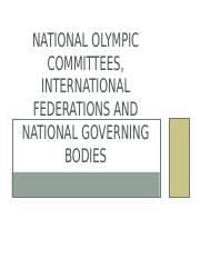 NattionalOlympic+Committees+and+IFS.ppt