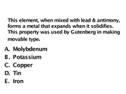 Gen Chemistry for Engineers lecture slide 20