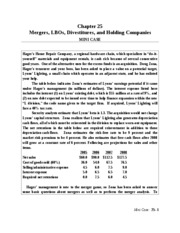 finance mini case april 25 Answers to chapter 2 mini case page 84-86 in corporate answers to chapter 2 mini case page 84-86 in corporate finance by ehrhardt and september 25, 2014.