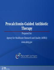 CEU_NUR_280_GALEN_procalcitonin-guided-antibiotic-therapy.ppt