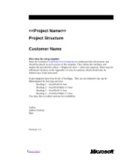 blank TTI- Project Structure