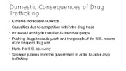 Domestic+Consequences+of+Drug+Trafficking