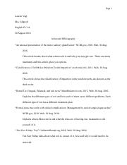 ? business research paper rubric