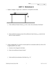 Unit 2 Worksheet 1 - a How does the motion of the cyclist A in the ...