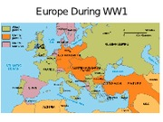 changes in world war europe