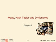 Map Hash Tables and Dictionaries_Part_1