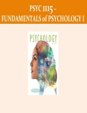 Module1-Prologe-Psych Defined