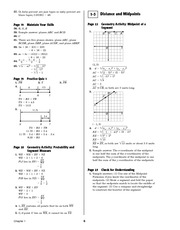 Pre-Calculus Homework Solutions 4