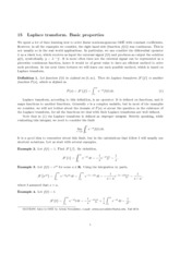 Introduction to Ordinary Differential Equations Lecture 15 Notes
