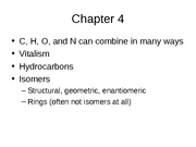 Ch4_Chemistry of Carbon