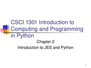 CSCI1301Chapter02