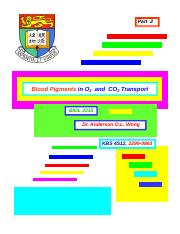 04_Resp-Blood Pigment  Gas Transport-2016
