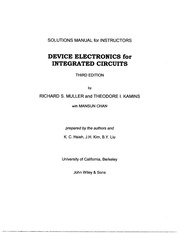 Device_Electronics_for_Integrated_Circuits_3Ed_-_Muller___Kamins_-_Solutions_Manual