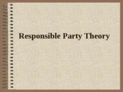 Responsible Party Theory