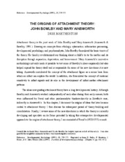 Article _2 Attachment Theory.pdf