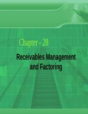 Ch_28_Receivables Management and Factoring.ppt