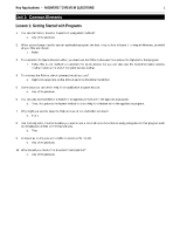 Module B Key Apps Textbook Review Questions Answers