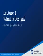NucE 431 Lecture 1 - What is Design.pdf