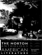 The Norton Anthology Of American Literature - Volume A