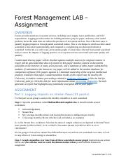 LAB_Forest Management_Assignment.docx