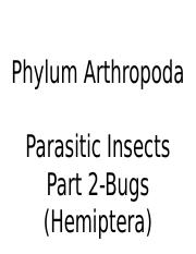 Lec 33 (Parasitic Insect(bugs) -  Part 2) 35.pptx