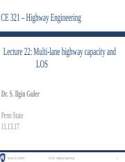 5 - Lecture 22 - Multi-lane highway capacity and LOS.pdf