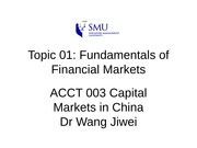 ACCT003-Topic01-FundamentalsFinancialMarkets