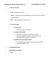 marketing study guide exam 3_StudyGuide