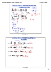 Complex Numbers Part 2