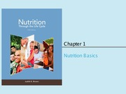 Chapter 1 (Nutrition Basics)